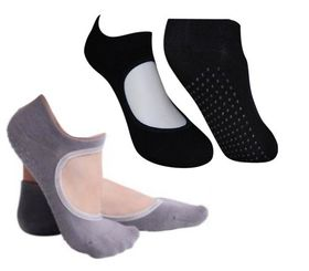 Yoga Socks Set - Grey & Black