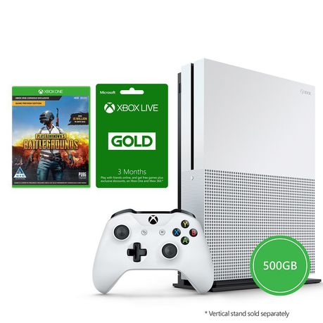 Xbox One S 500gb Console Player Unknown Battlegrounds Pubg 3