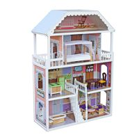 Country Cottage Wooden Doll House