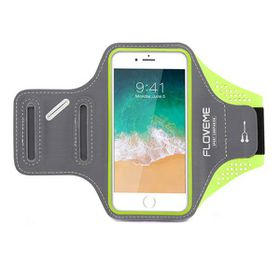 "Floveme Sports ArmBand for 4.7"" Smartphones - Green"