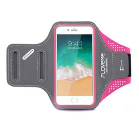 "Floveme Sports ArmBand for 4.7"" Smartphones - Pink"