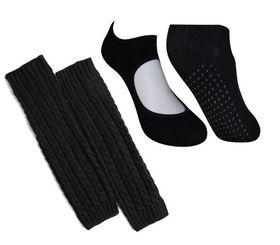 Yoga Socks & Leg Warmers - Black