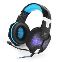 KOTION G1000 Gaming Headset with LED Light - Blue