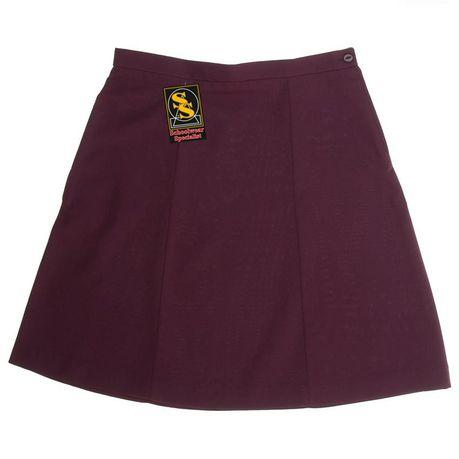 7cf6985bb SS Girl's 6-Panel Plain School Skirt - Maroon | Buy Online in South ...