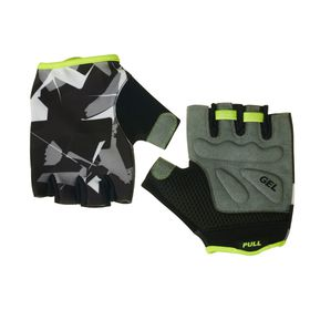 Civvio Ladies Active Glove - Grey & Lime (Size: L)
