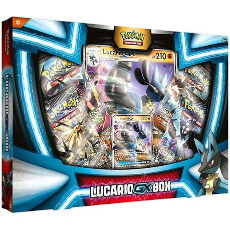 Pokemon Trading Card Game Lucario Gx Box