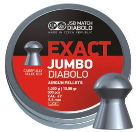 JSB Exact Jumbo 5.5mm Pellets - 500 Pack