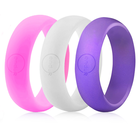 Enduring Women S Silicone Wedding Ring 3 Pack Buy Online In