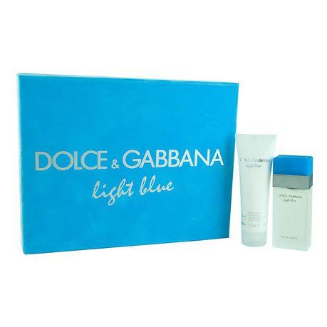 08de34f844c Dolce   Gabbana Light Blue EDT 2 Piece Gift Set for Her (Parallel Import)