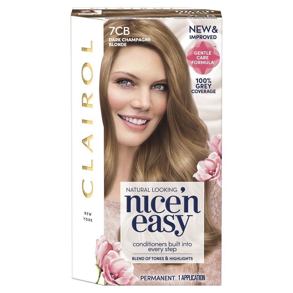 Living is all about trying new experiences and feeling your best. So why waste time on bland, flat hair color? That's why Clairol Nice'n Easy Permanent Hair Color gives you 8 weeks of true-to-you color with three salon tones for a blend of highlights and lowlights.