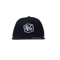 Peg Snapback Cap - Black