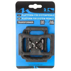 M-Wave Transformer Platform for Clipless Pedal - Black