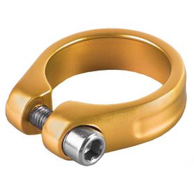 M-Wave 34.9mm Bicycle Seat Tube Clamp - Gold