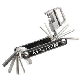 M-Wave Little 15 Bicycle Mini Folding Tool - Black