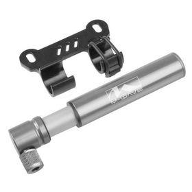 M-Wave Air Midget Bicycle Mini Pump - Silver