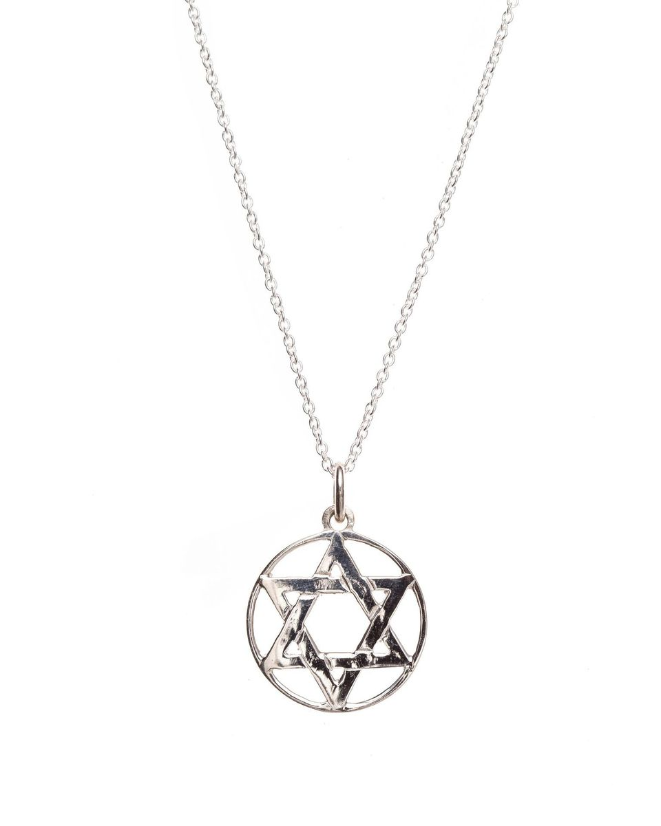 Pretty silver star of david pendant buy online in south africa pretty silver star of david pendant loading zoom aloadofball Image collections