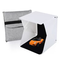 LED Photo Light Box Tent with 2 backdrops - 21cm