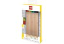 LEGO Coloured Pencils With Toppers - 9 Piece