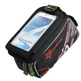 """Rockbros 6"""" Waterproof Bike Touch Bag  - Red"""