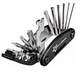Rockbros 16 in 1 Bicycle Multi Repair Tool Kit - Black
