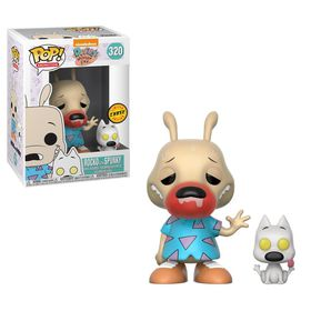 Funko Pop Rocko And Spunky With Sick Chase