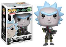 Funko Pop Rick & Morty - Weaponized Rick With Chase