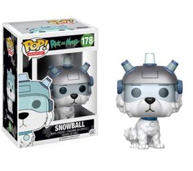Funko Pop Rick & Morty - Snowball