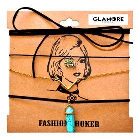Glamore Cosmetics Blue Festival Choker Pack
