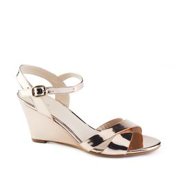 Queue Glamour Wedge - Rose Gold