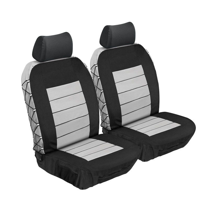 Stingray - Ultimate Hd Front Car Seat Cover - Grey | Buy Online in ...