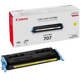 Canon 707 Yellow Laser Toner Cartridge