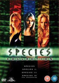 Species Collection 1-4 Boxset - (Import DVD)