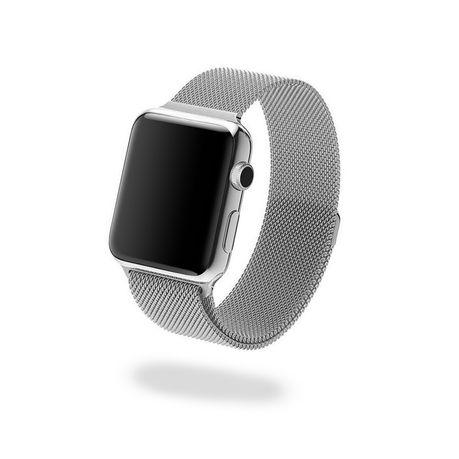 nuevo estilo be845 81605 Jivo Milanese Strap for Apple Watch Series 1/2/3 38mm Silver