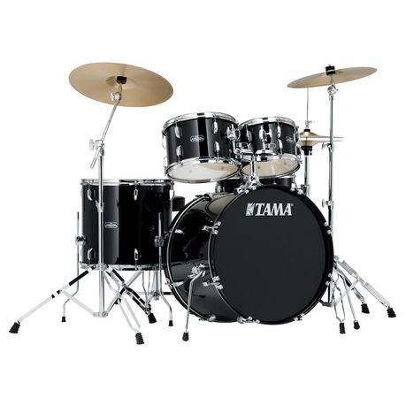 Tama Stagestar 5-Piece Drum Set with Cymbals - Black