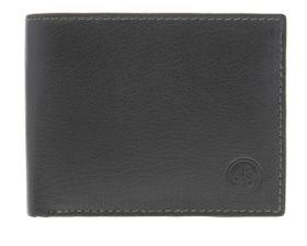 Carraro Mens Leather Wallets - Black