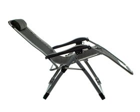 Campground Campking Chair - Black