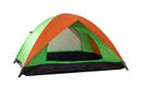 Essentials - Line Back Tent - Green & Orange