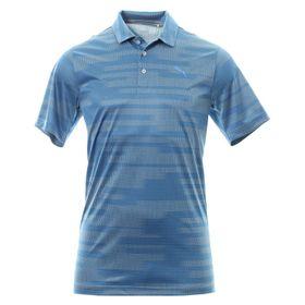 Puma Men's Golf PWRCool Blur Shirt - Blue