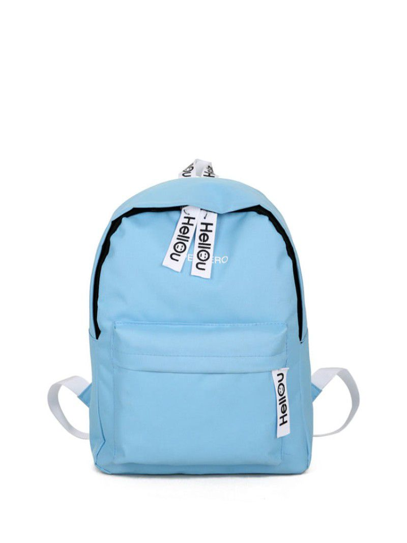 e206888c9c0 Blue Canvas Backpack - BD Fabrications