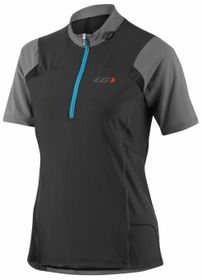 Louis Garneau Women's Epic Cycling Jersey - Grey & Black