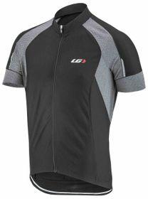 Louis Garneau Lemmon Vent Cycling Jersey - Black & Grey