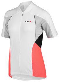 Louis Garneau Women's Beeze Vent Cycling Jersey - White & Pink