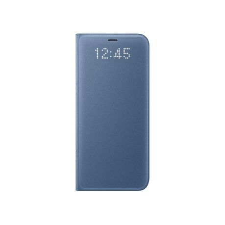 innovative design 802cf 86012 Samsung Led View Cover For Galaxy S9 - Blue