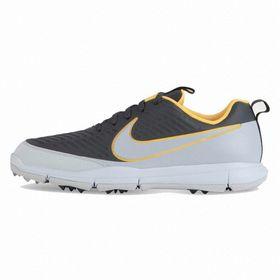 Nike Explorer 2 Mens Golf Shoe - Grey & Orange