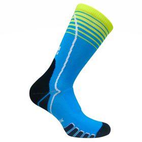 Vitalsox Ladies Running & Court Crew Socks - Blue (Size: L)