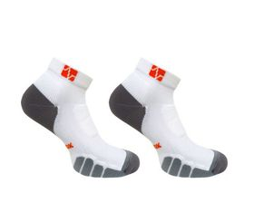 Vitalsox Ladies's Running Socks - White (Size: 8.5 - 10.5)