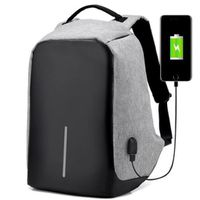 Iconix Anti Theft Backpack With Usb Port Grey Buy