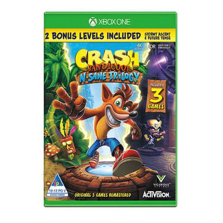 Crash Bandicoot: N  Sane Trilogy (Xbox One)