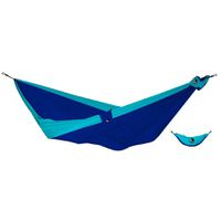 Ticket To The Moon Double Hammock - Blue & Turquoise