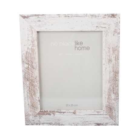 Photo Frames Distressed White - 4 pack (20 x 25cm) | Buy Online in ...
